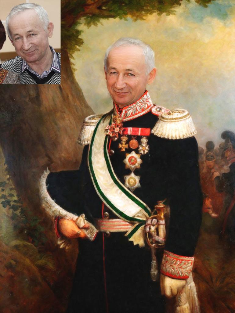 Где заказать исторический портрет по фото на холсте в Ростове-на-Дону?