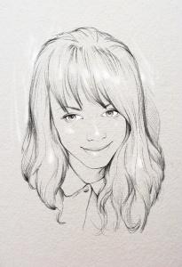 заказать черно белый портрет