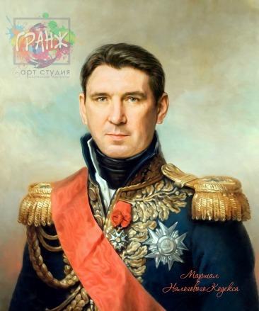 Портрет по фото на холсте в подарок мужчине на 23 февраля Ростов на Дону
