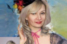 Заказать арт портрет по фото на холсте в Ростове-на-Дону