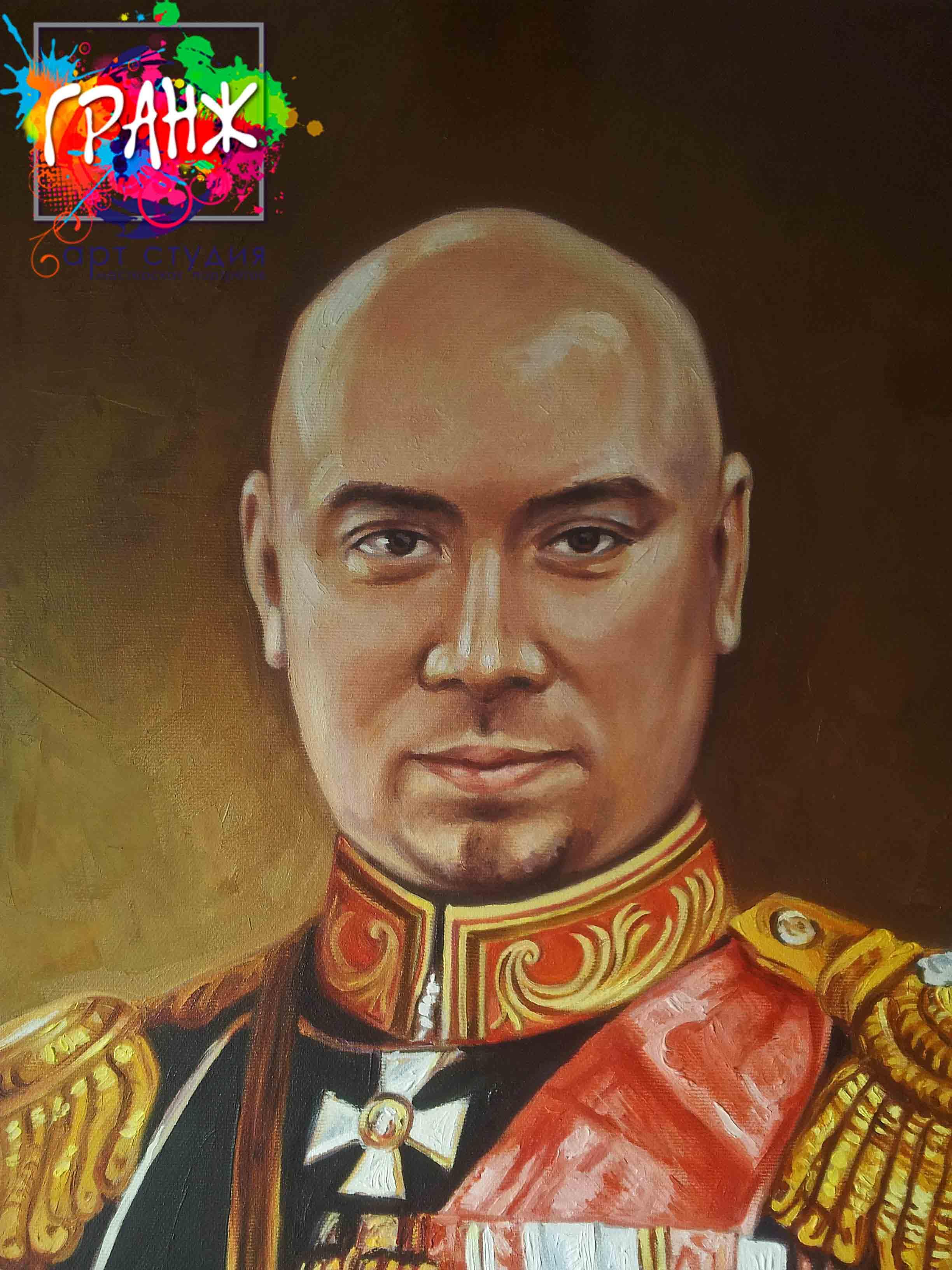 Заказать портрет маслом по фотографии в Ростове-на-Дону